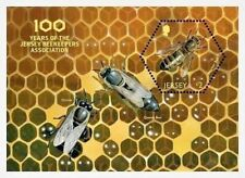 """Jersey - """"HONEY BEES ~ 100 YRS OF JERSEY BEEKEEPERS ASSOCIATION"""" Scented MS 2017"""