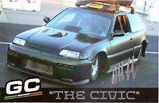 2017 THE CIVIC JEFF LUTZ JR. signed STREET OUTLAWS HERO PHOTO CARD AS SEEN ON TV