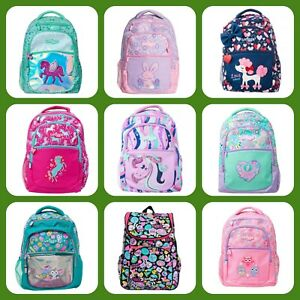 ❤ NEW Girls SMIGGLE Backpack School Bag Rucksack Fluffy Fave Unicorn Deja Vu UK