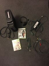Microsoft Xbox 360 Elite 120 GB Console +Official Box+1controller+2games&more