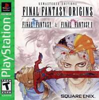 Final Fantasy Origins [Sony PlayStation PS1 Square Enix Remastered FFI FFII 1 2]