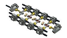 Lego Technic Parts, Engine Motor 8 Cylinder