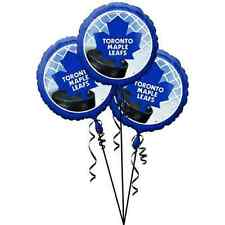 Toronto Maple Leafs NHL Pro Hockey Sports Party Decoration Mylar Balloons