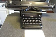 "VINTAGE ROYAL TYPEWRITER, RARE EXTRA LONG 30 ""CARRIAGE, late 30's early 40's"