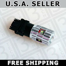 2x 25W Cree LED Parking Brake Tail Light Stop Bulb 3156 3157 3457 4157 T25 White