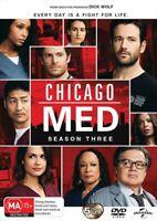 Chicago Med : Season 3 (DVD, 5-Disc Set) NEW