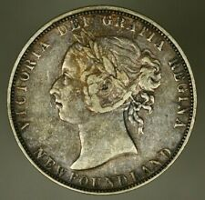 Canada Newfoundland Silver 50 Cents 1899  VF+  Victoria  A1141