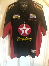 Montoya Shirt NASCAR Small Chase Authentics Drivers RARE Havoline 1/4 Zip Sample