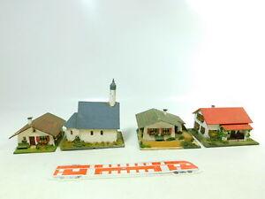 BT891-1# 4x RS-Modell Spur H0 Holz-Haus/-Kirche: 422 + 424 etc