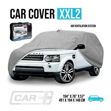 Car Cover XXL2 Resist Waterproof Protection All Weather Air Ventilation System