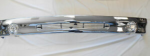 Chevy Lower valance chrome Air Dam Deflector Valance Panel for GMC Truck Tahoe