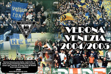 DVD VERONA-VENEZIA  2004-2005 -ULTRAS UNIONE,VENEZIAMESTRE,VMFC,HELLAS,TIFO