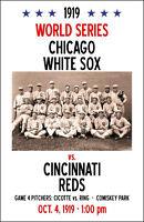 1919 World Series Poster - White Sox vs. Reds