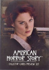 AMERICAN HORROR STORY 2013 BREYGENT A PROMO CARD AP PROMO UK FOR PREVIEW SET TV
