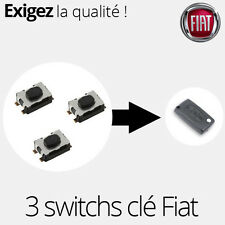 3 X Switch bouton clé télécommande Fiat Scudo - SW04