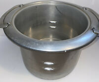 Vintage Mirro Finest Aluminum Kettle Deep Well Stove Insert Pan Stock Pot No Lid
