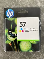 GENUINE HP HEWLETT PACKARD HP 57 COLOUR INK CARTRIDGE 01/2020