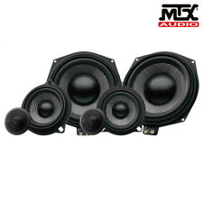 BMW Audio Upgrade MTX Car Speakers & Subwoofers Replacement Set