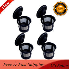4pcs Reusable Refillable K-Cup Coffee Filter Pod for Keurig K50&K55 Coffee Maker