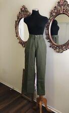 Vintage Boy Scouts Pants Mens Women Green Bsa Official Wide Legs Skater 90s
