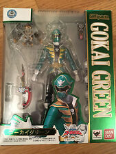 SH Figuarts gokai green super sentai power rangers megaforce *** vendeur britannique **