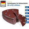 Delta Schleifpapier Schleifdreiecke 93x93x93mm Deltaschleifer Schleifscheiben