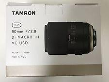 NEW TAMRON SP 90mm F2.8 Di MACRO 1:1 VC USD F017 (90 mm F/2.8) for Nikon*Offer