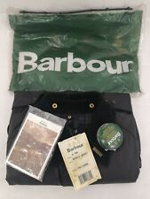 New Barbour Bedale Classic Vintage 80's Waxed Jacket Black C48-122cm With Tags