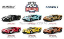 GREENLIGHT 13200 GT RACING HERITAGE SERIES 1, SET OF 6 DIECAST CARS 1:64 PRESALE