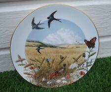 assiette déco porcelaine decors nature (1472)