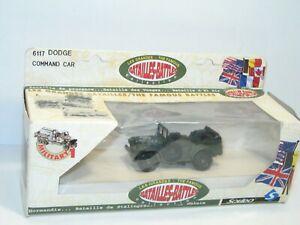 Solido Dodge Command Car Military With Board Sticker