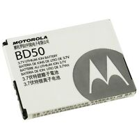 NEW Motorola OEM BD-50 Battery F3 F3c Em326g SNN 5796A Li-Polymer 3.7v