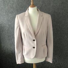 Ladies H&M Blush Pink / Nude Blazer Jacket Size UK 14