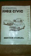1982 Honda Civic Service Manual