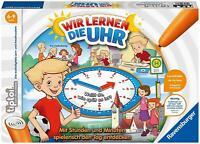 Ravensburger tiptoi 00847 Wir lernen die Uhr interaktives Lernspiel ab 6 Jahren