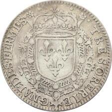 O3381 RARE Jeton R3 Louis XIII Trésorerie Générale Fermes 1635-1640 Argent