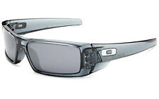 NEW! Oakley Gascan Sunglasses Crystal Black/Black Iridium