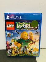 Lego Worlds PS4 (Sony PlayStation 4, 2017) Brand New & Sealed