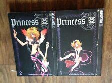 Princess Ai 1-2 manga book lot English Teen Fantasy Romance Milky Love Kujiradou