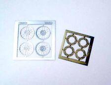 NINCO 80727 Set 4 cerchioni + 4 dischi freno in fotoincisione scala 1/32