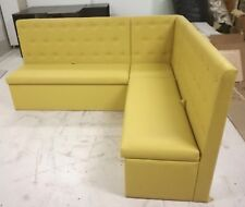 Restaurant Booth seating, Banquet, Fixed Bench Seating , Corner Upholstered Sofa