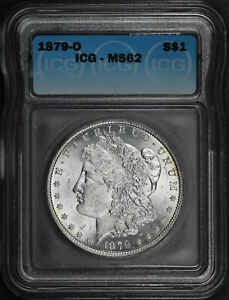 1879-O Morgan Dollar ICG MS-62