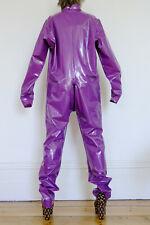 PVC U Like Plastic Cat Jump Boiler Suit, Catsuit, All-in-One, 2XL, Shiny Vinyl,