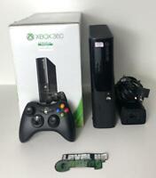 Boxed Microsoft Xbox 360 E 250GB Slim Console Complete MINT Condition