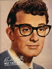 BUDDY HOLLY. NOT FADE AWAY. THE COMPLETE STUDIO RECORDINGS AND MORE. VERY RARE.