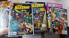 from JLA comic lot Young Justice 1-55 VF+-NM bagged our world at war special sec
