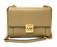 Michael Kors Mindy Women's Medium Chain Shoulder Bag Leather