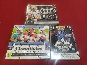 PHILADELPHIA EAGLES 3 Box NFL Mixer Break Limited Chronicles Crown Royale