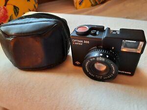 Agfa Optima Sensor 335 35mm camera, with original case. Used but good condition.