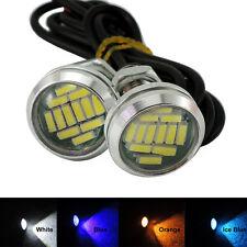 15W 12LED Eagle Eye Light Car Parking Signal Lamps DRL Reverse Backup Lights
